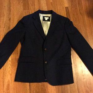 J. Crew navy school boy blazer